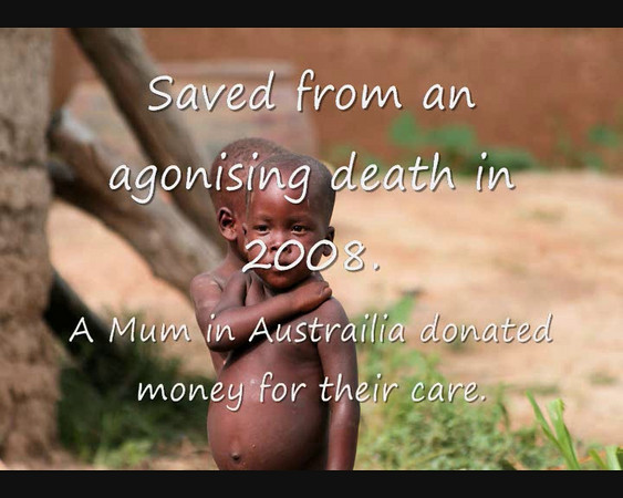 Saved from certain death [2009]